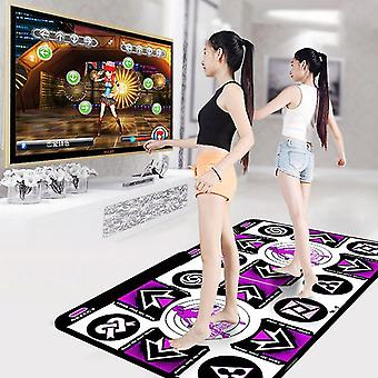 Home game console accessories double user dance mats non slip dancers step pads