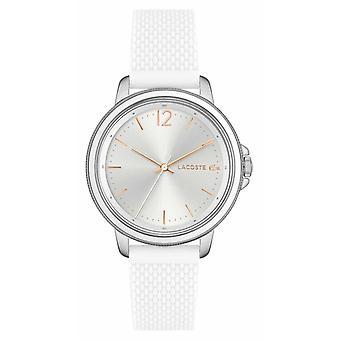 Lacoste SLICE Women's White Silicone 2001197 Watch