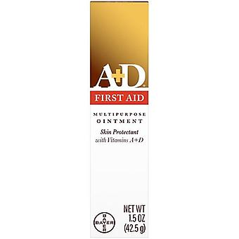 A+D First Aid Ointment, Skin Protectant for Dry Cracked Skin, 1.5 oz
