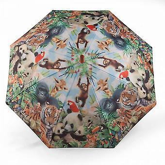 Paraply för barn Tschungel Djur motiv