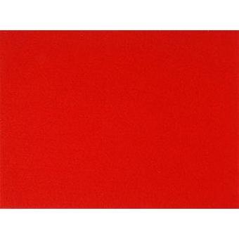 Grote A3 Red Stiffened Vilt blad voor ambachten