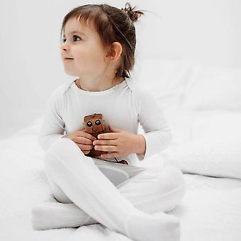 Ekzem beruhigender Babyschlafanzug mit faltbaren Kratzhandschuhen 3-6m