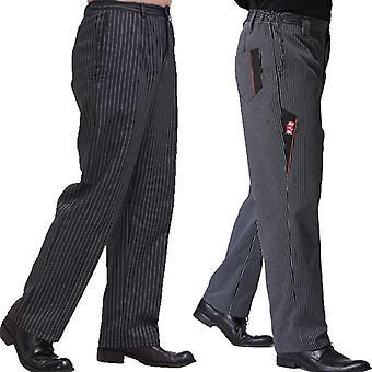 Chef Pants Restaurant Uniform Chef Trousers Gray