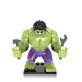 Marvel Avengers Hulk Thanos Eisen Anime Spielzeug Gift Super Heroes Bausteine Figuren Spielzeug für Kinder Junge Mädchen Geschenk