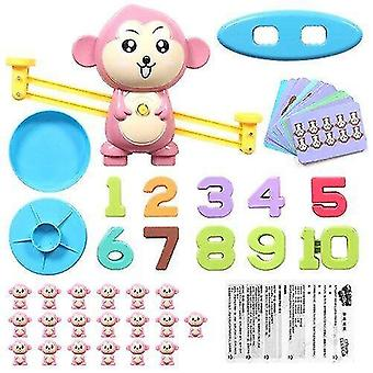 Pretend professions role playing balance number game toy simple arithmetic kid's learning puzzle toy best christmas gift|gags practical