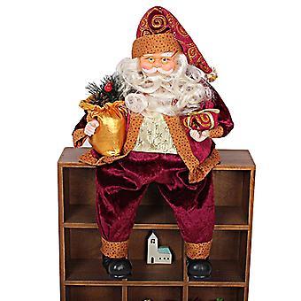 Homemiyn Istuva joulupukki nukke joulu koristelu lahja lapsille