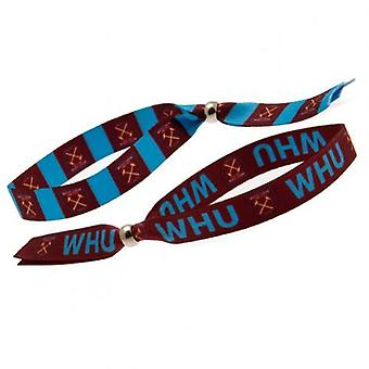 West Ham United Festival Wristband