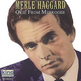 Merle Haggard - Okie From Muskogee [CD] USA import