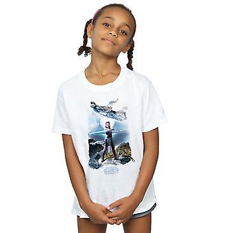 Star Wars Girls The Last Jedi Rey Falcon T-Shirt