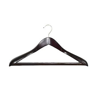 Caraselle Shaped Walnut Suit Hanger 45 cms wide
