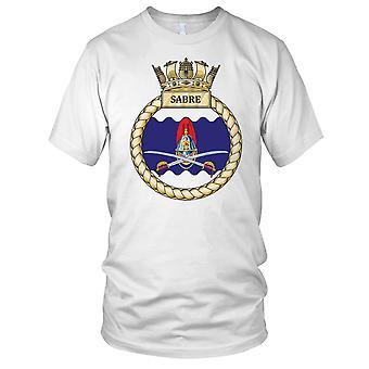 Royal Navy HMS Sabre Kids T skjorte