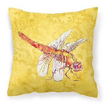 Carolines aarteita 8866PW1818 Dragonfly keltainen piirtoalustan kangas koriste p