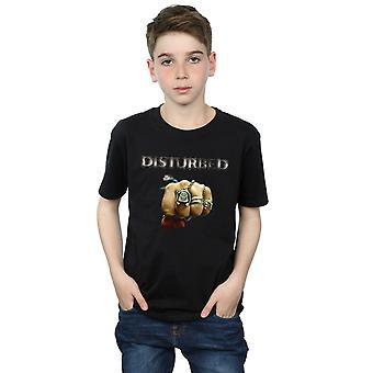 Disturbed Boys Fist Logo T-Shirt