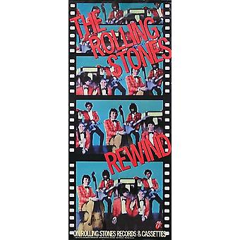 The Rolling Stones Rewind Poster