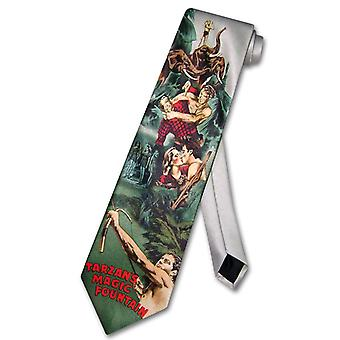 TARZAN'S MAGIC FOUNTAIN Neck Tie Men's NeckTie