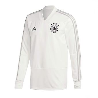 2018-2019 Duitsland Adidas Training Top (zuiver wit)