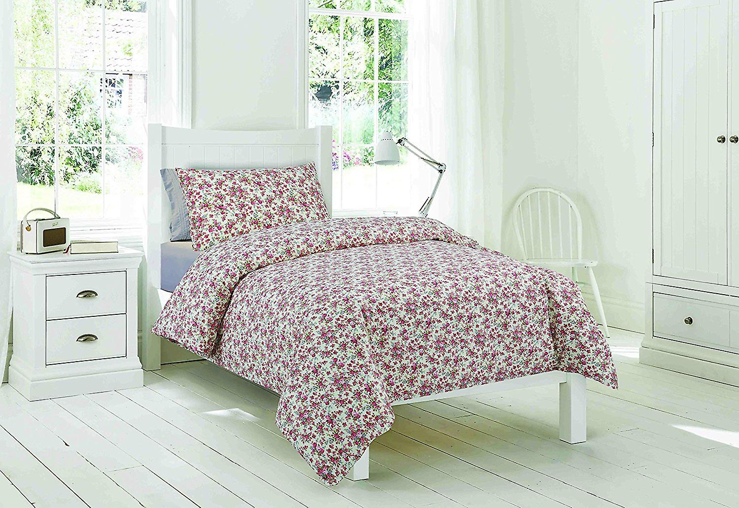 Easy-Fit Duvet Pink Floral