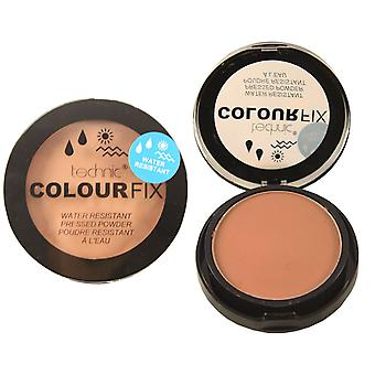 Technic ColourFix Water Resistant Pressed Powder Cocoa