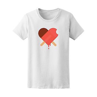 Lody serca Graphic Tee - obraz przez Shutterstock