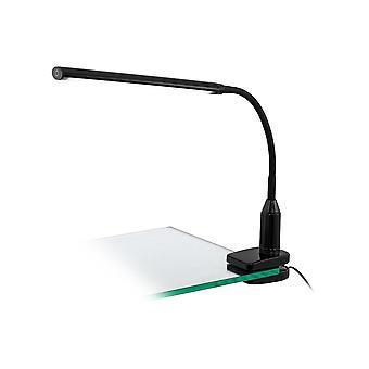 Lampe LED tactile EGLO lalfeur avec support de pince de bureau