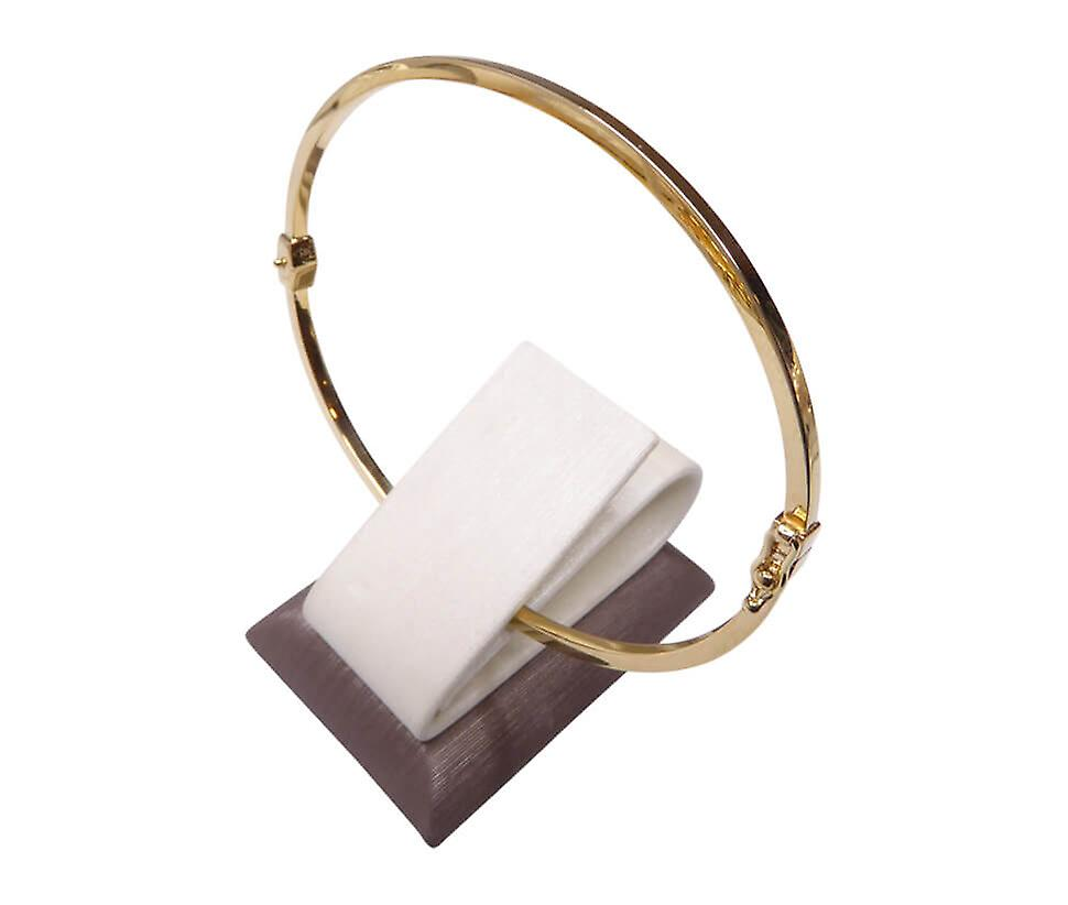 14 carat gold Christian slave bracelet