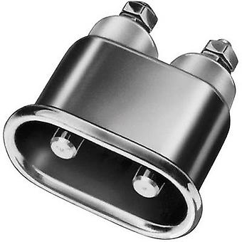 Kalthoff 344.1 Hot wire connector 344 Series (mains connectors) 344 Plug, vertical mount Total number of pins: 2 + PE 16 A Metal 1 pc(s)