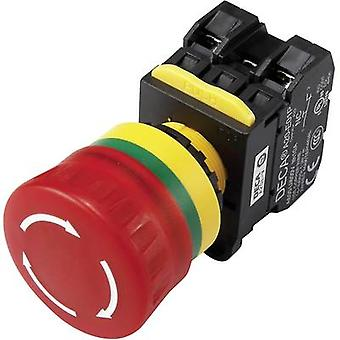 DECA A20L-V4E20Q7R Kill switch + contact 240 V AC 6 A 2 makers IP65 1 pc(s)