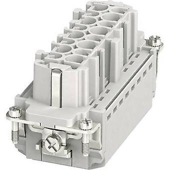 Phoenix Contacto 1407731 Inserción de enchufe HC-B 16 + PE Plug & Clip 1 pc(s)