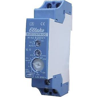 Eltako EUD12NPN-UC DIN-rail dimmer Suitable for light bulbs: Light bulb, Energy saving bulb, Halogen lamp, Fluorescent lamp, LED bulb Blue, Grey