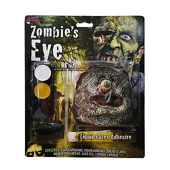 Zombie bungelende oog make-up Kit