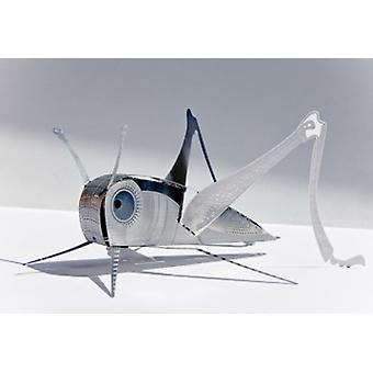 Grasshopper XL Bug Origami Stainless Steel Construction Kit