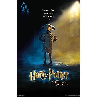 Harry Potter - Dobby Teaser Poster Print