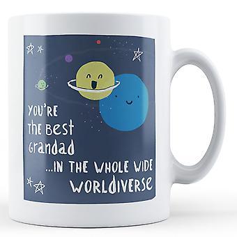 Você é o melhor avô no Worldiverse inteiro - caneca impressa