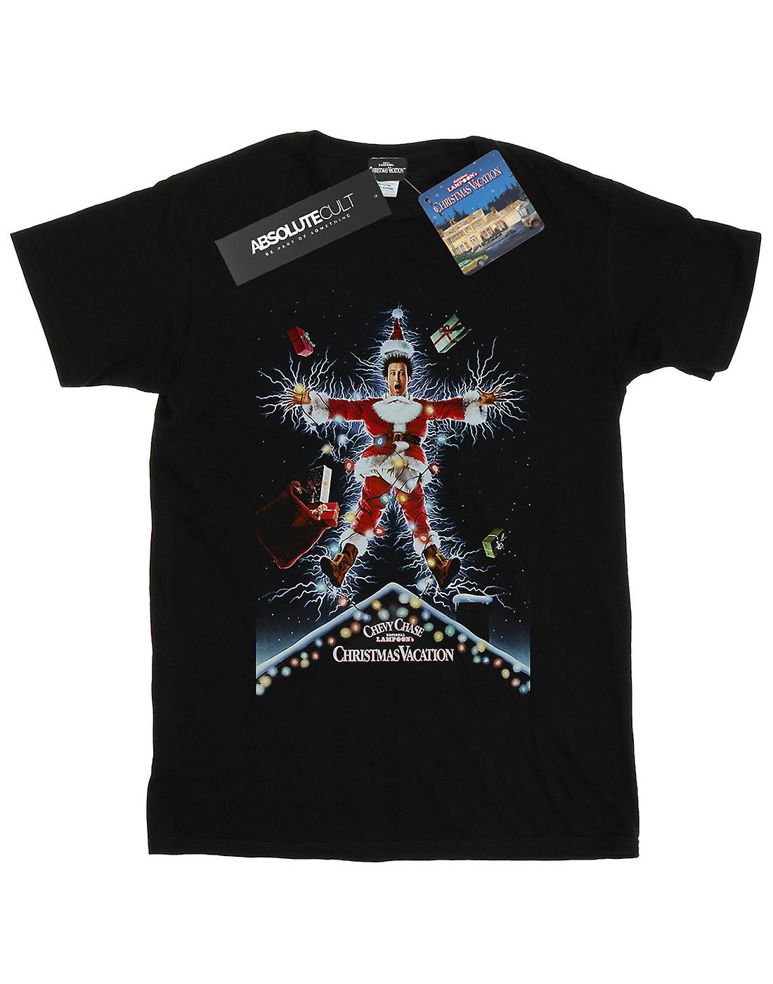National Lampoon's Christmas Vacation Women's Poster Boyfriend Fit T-Shirt
