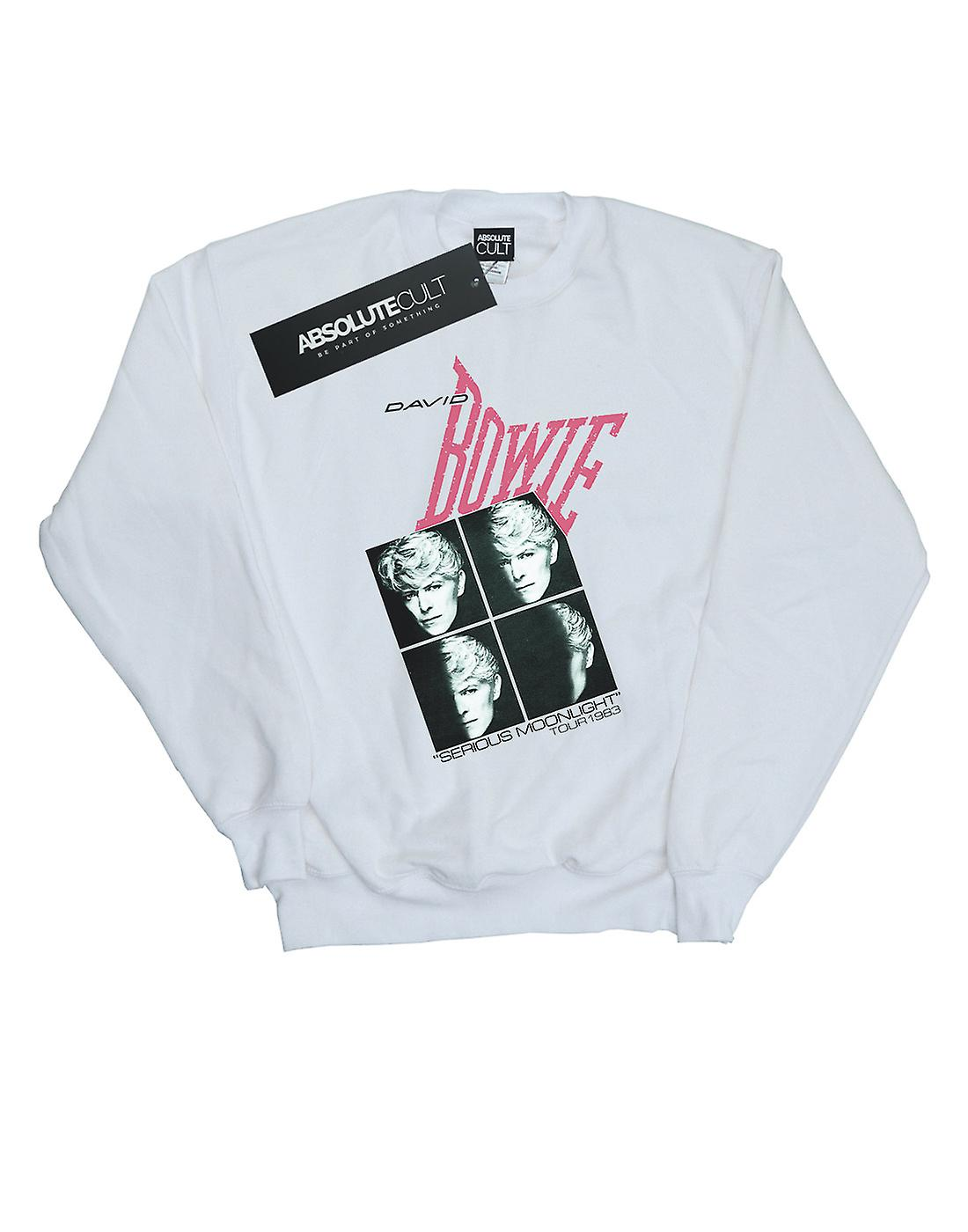 David Bowie Girls Serious Moonlight Tour 83 Sweatshirt