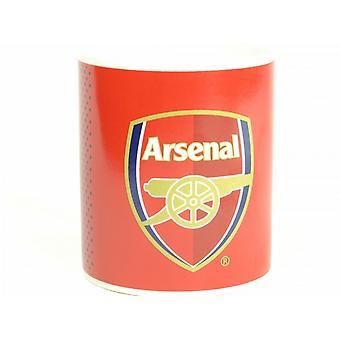 Arsenal FC Official Fade Design Crest Mug