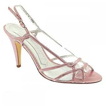 Magrit Metallic Pink Sling Back Strappy Sandal