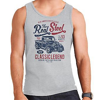 Real Steel poimia kuorma miesten liivi