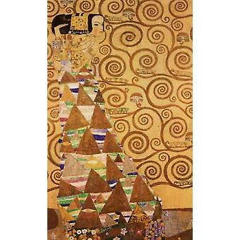 Expectation, Pattern for the Stoclet Frieze, Gustav KLIMT, 60x40cm