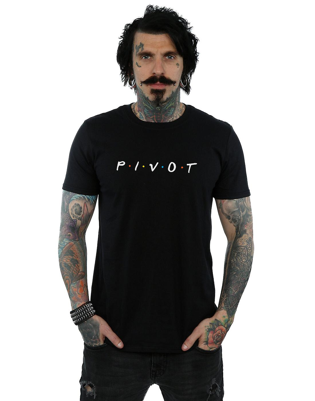Friends Men's Pivot Logo T-Shirt