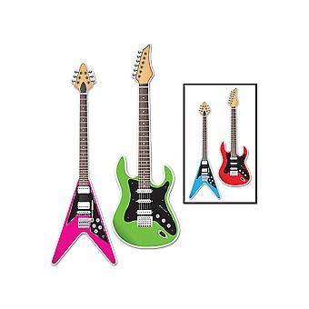 Guitar Cutouts 3'