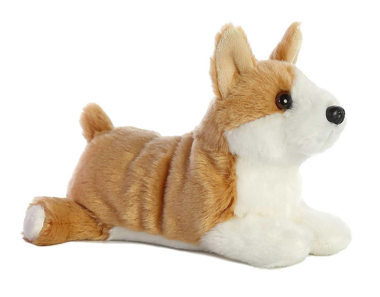 Aurora Mini Flopsies - Corgi Dog Soft Toy 20cm