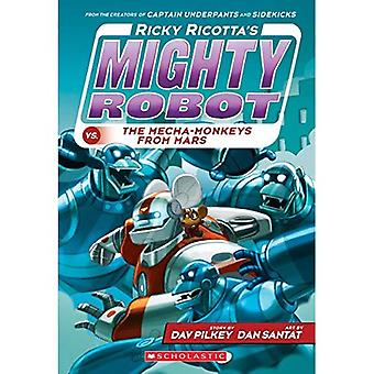 Robot puissant de Ricky Ricotta vs les Mecha-singes de Mars