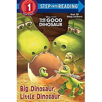 Stor dinosaurie, liten dinosaurie (Disney/Pixar bra dinosaurie) (steg i behandlingen: en steg 2-bok)