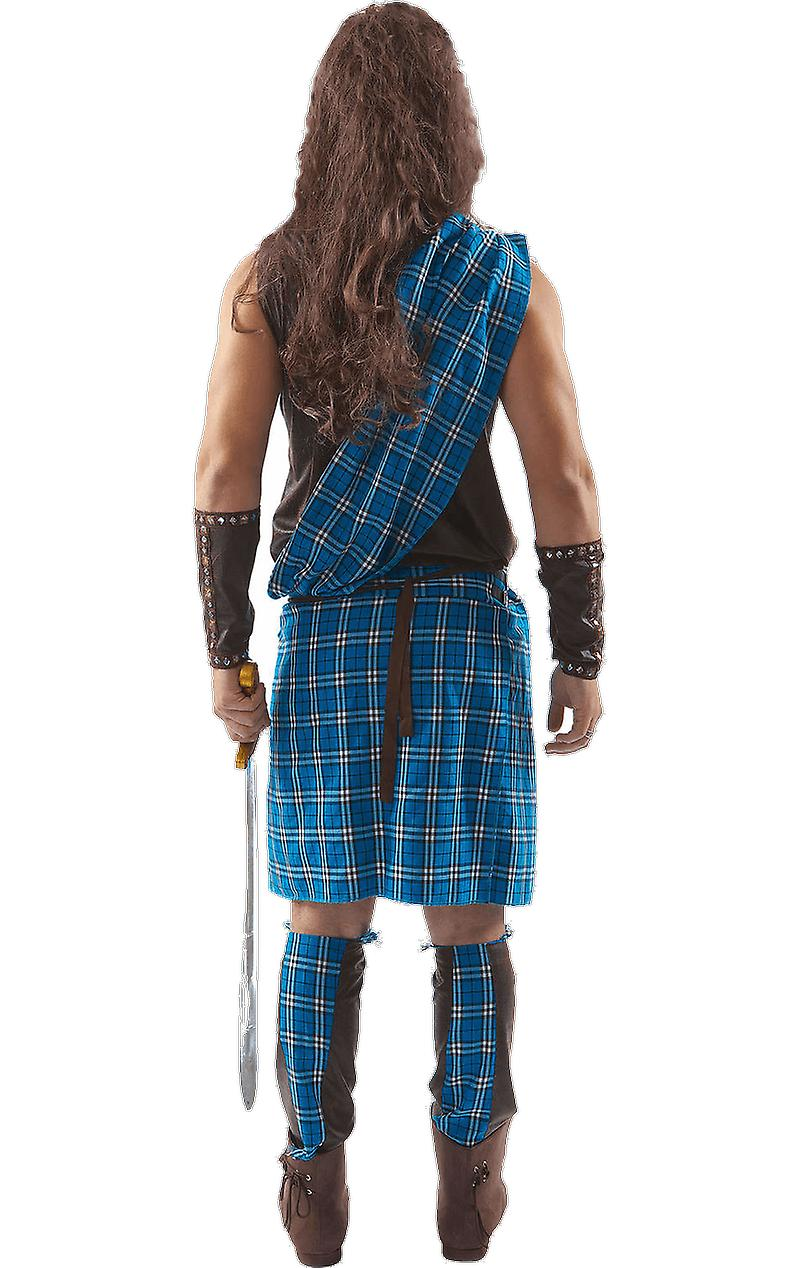Orion Costumes Mens Braveheart Scottish Warrior Scotsman Film Fancy Dress