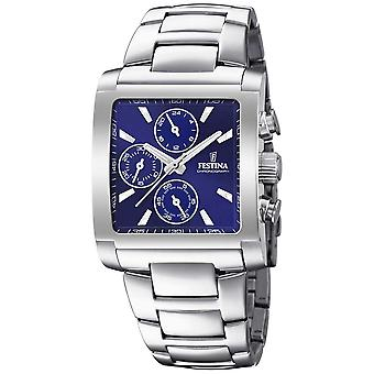 Festina | Mens Stainless Steel Chronograph | Blue Dial | F20423/2 Watch