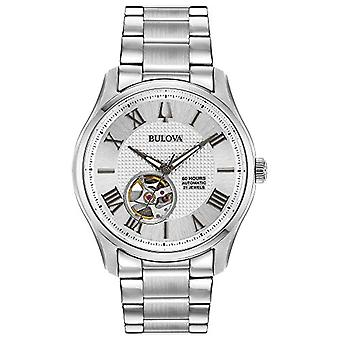 Bulova men's Automatic Skeleton with stainless steel strap 96A207
