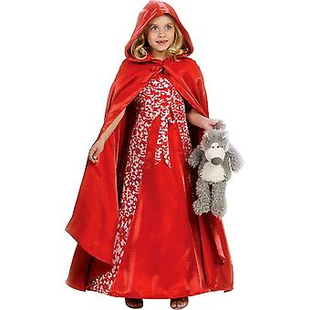 Deluxe Red Riding Hood Child Costume