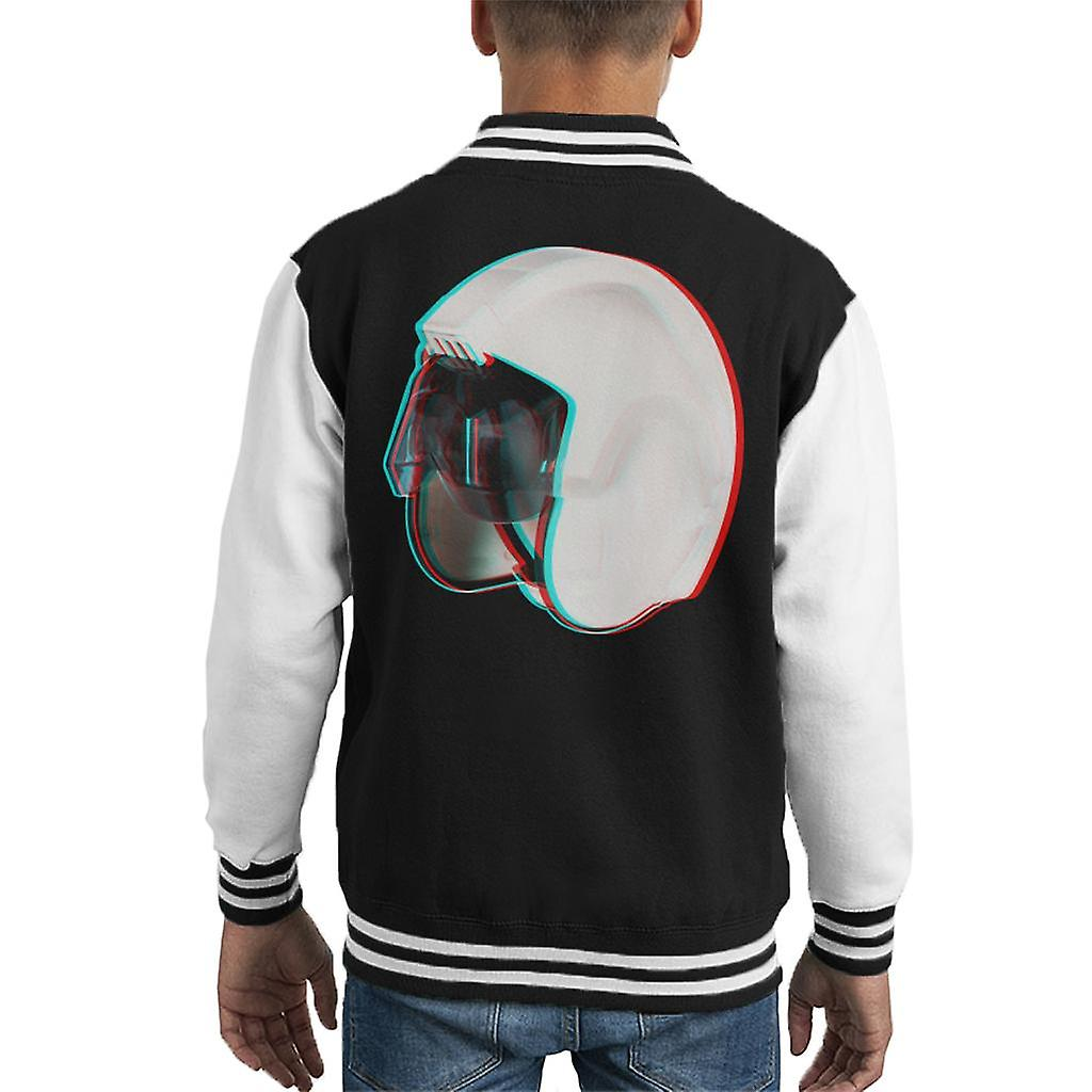 Originele Stormtrooper Rebel piloot Stunt helm 3D Effect Kid's Varsity Jacket