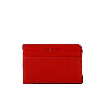 Zanellato 5127963z3 Dames's Rode Lederen Kaarthouder
